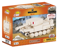 Nano tank Cromwell COBI 3018 - World of Tanks