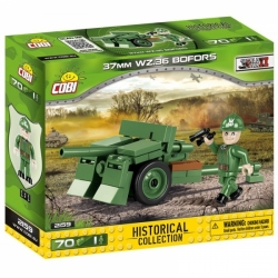 Protitankové dělo Bofors 37mm vzor 36 COBI 2159 - World War II