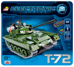 Tank T-72 (I/R a Bluetooth) COBI 21904 - ELECTRONIC SERIES