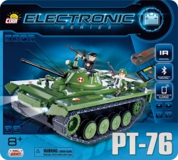 Tank PT-76 (I/R a Bluetooth) COBI 21906 - ELECTRONIC SERIES