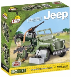 JEEP Willys MB zelený COBI 24092 - Small Army