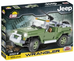 JEEP Wrangler vojenský COBI 24260 - Jeep Willys
