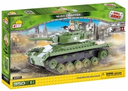 Lehký Tank M24 Chaffee II WW COBI 2457 - Small Army