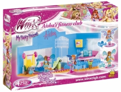 AISHA & BLOOM Fitness Club COBI 25254 - Winx