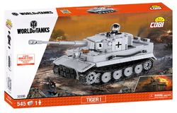 Stavebnice tank TIGER I  COBI 3000B - World of Tanks