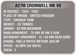 Tank CROMWELL COBI 3002 - World of Tank