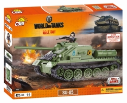 Stíhač SU-85 COBI 3003 - World of Tanks