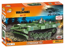 Tank Stridsvagn 103 COBI 3023 - World of tanks