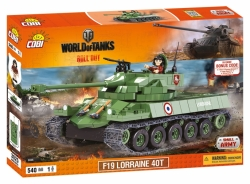 Tank F19 Lorraine 40T COBI 3025 - World of Tanks