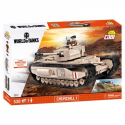 Pěchotní tank CHURCHILL I COBI 3031 - World of Tanks