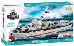 Loď torpédoborec ORP BLYSKAWICA COBI 3080 - World of Warships