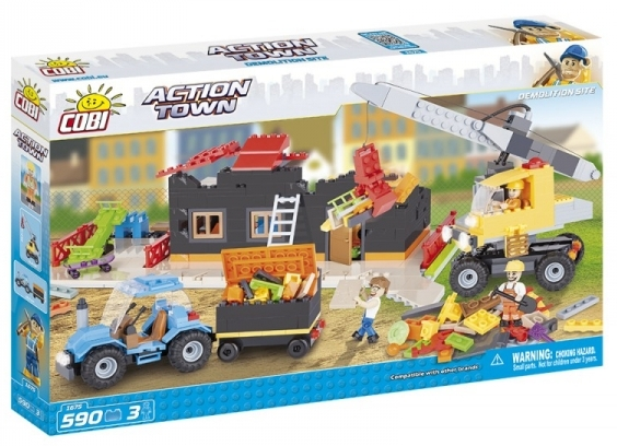 Demolice COBI 1675 - ACTION TOWN