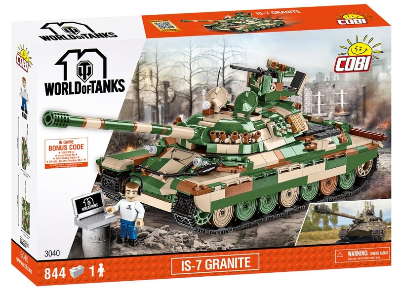 Sovětský těžký tank IS-7 Granite COBI 3040 - World of Tanks