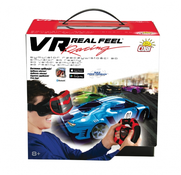 Závody VR Real Feel RACING MAN 49400